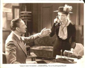 Beauty And The Boss 1932